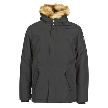 Ruhák Férfi Parka kabátok Schott WASHINGTON Fekete