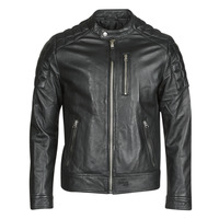 Ruhák Férfi Bőrkabátok / műbőr kabátok Schott LCMARTIN Fekete