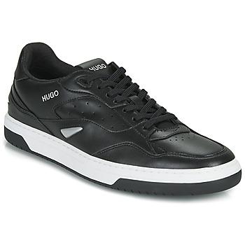Cipők Férfi Rövid szárú edzőcipők HUGO SWITON TENN FL Fekete