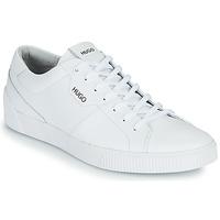 Cipők Férfi Rövid szárú edzőcipők HUGO ZERO TENN ITA Fehér