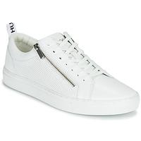 Cipők Férfi Rövid szárú edzőcipők HUGO FUTURISM TENN ITEM2 Fehér