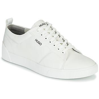 Cipők Férfi Rövid szárú edzőcipők HUGO ZERO TENN NYPU Fehér