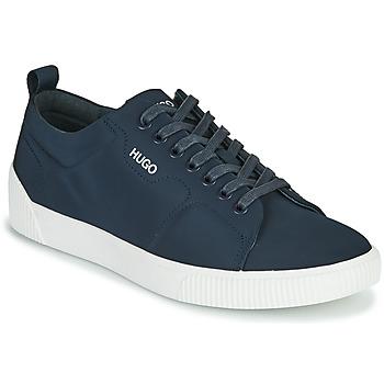 Cipők Férfi Rövid szárú edzőcipők HUGO ZERO TENN NYPU Tengerész