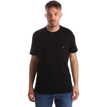 Ruhák Férfi Rövid ujjú pólók Calvin Klein Jeans K10K103076 Fekete
