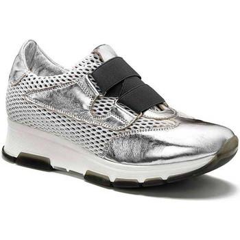Cipők Női Rövid szárú edzőcipők Keys 5183 Ezüst
