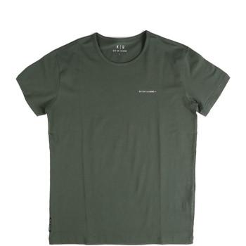 Ruhák Férfi Rövid ujjú pólók Key Up 2G69S 0001 Zöld