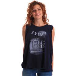 Ruhák Női Trikók / Ujjatlan pólók Key Up 5Z14S 0001 Kék