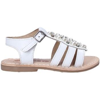 Cipők Lány Szandálok / Saruk Asso 65954 Fehér