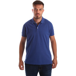 Ruhák Férfi Rövid ujjú galléros pólók Navigare NV82086 Kék