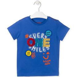 Ruhák Gyerek Rövid ujjú pólók Losan 015-1032AL Kék