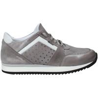 Cipők Férfi Rövid szárú edzőcipők Exton 558 Szürke