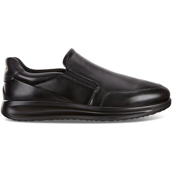 Cipők Férfi Belebújós cipők Ecco 20714401001 Fekete