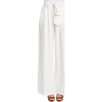 Ruhák Női Lenge nadrágok Gaudi 011FD25033 Fehér