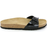 Cipők Női Papucsok Grunland CB0029 Fekete
