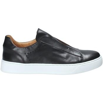 Cipők Férfi Belebújós cipők Exton 510 Fekete