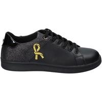 Cipők Női Rövid szárú edzőcipők Roberta Di Camerino RDC82103 Fekete