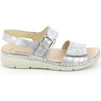 Cipők Női Szandálok / Saruk Grunland SE0459 Ezüst
