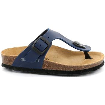 Cipők Gyerek Lábujjközös papucsok Grunland CB0926 Kék
