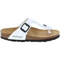 Cipők Gyerek Lábujjközös papucsok Grunland CB0926 Fehér