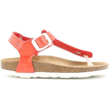 Cipők Lány Szandálok / Saruk Grunland SB0031 Narancssárga