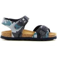 Cipők Lány Szandálok / Saruk Grunland SB0169 Kék