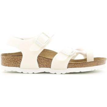 Cipők Lány Szandálok / Saruk Birkenstock 371593 Fehér