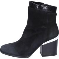 Cipők Női Bokacsizmák Hogan BK687 Fekete