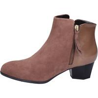 Cipők Női Bokacsizmák Hogan BK688 Barna