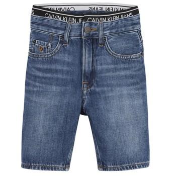 Ruhák Fiú Rövidnadrágok Calvin Klein Jeans AUTHENTIC LIGHT WEIGHT Kék