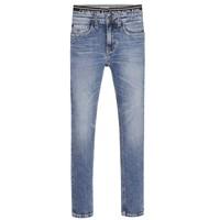Ruhák Fiú Skinny farmerek Calvin Klein Jeans SKINNY VINTAGE LIGHT BLUE Kék