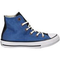 Cipők Gyerek Magas szárú edzőcipők Converse 659965C Kék