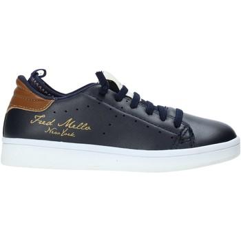 Cipők Gyerek Rövid szárú edzőcipők Fred Mello W19-SFK201 Kék