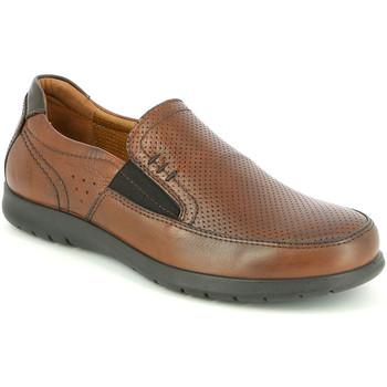 Cipők Férfi Mokkaszínek Grunland SC4449 Barna