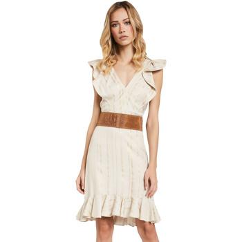 Ruhák Női Rövid ruhák Gaudi 011FD15057 Bézs