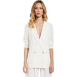 Ruhák Női Kabátok / Blézerek Gaudi 011FD35012 Fehér