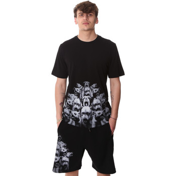 Ruhák Férfi Rövid ujjú pólók Sprayground 20SP012 Fekete