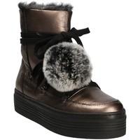Cipők Női Hótaposók Mally 5991 Szürke