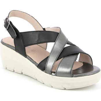 Cipők Női Szandálok / Saruk Grunland SA1877 Fekete