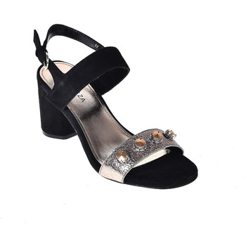 Cipők Női Szandálok / Saruk Apepazza PRS04 Fekete
