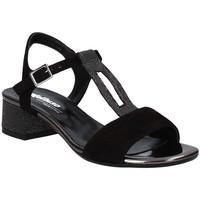 Cipők Női Szandálok / Saruk Melluso K35106 Fekete