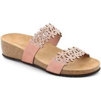 Cipők Női Papucsok Grunland CB2478 Rózsaszín
