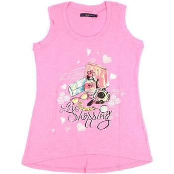 Ruhák Női Trikók / Ujjatlan pólók Key Up S88Z 0001 Rózsaszín