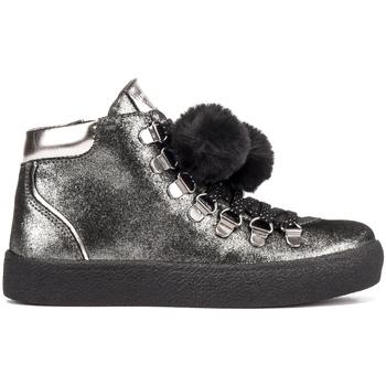 Cipők Gyerek Magas szárú edzőcipők Lumberjack SG47703 002 A11 Fekete