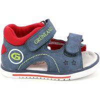 Cipők Gyerek Szandálok / Saruk Grunland PS0017 Kék