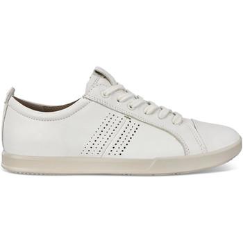 Cipők Férfi Rövid szárú edzőcipők Ecco 53620401007 Fehér