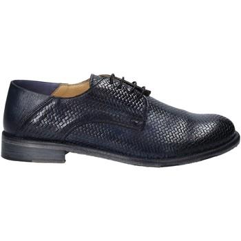 Cipők Férfi Oxford cipők Exton 3102 Kék