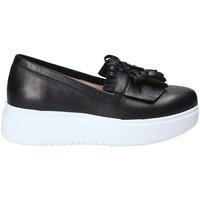 Cipők Női Belebújós cipők Exton E01 Fekete