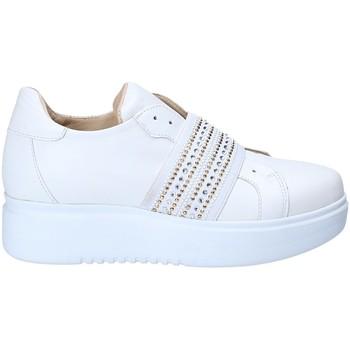 Cipők Női Rövid szárú edzőcipők Exton E05 Fehér