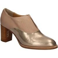Cipők Női Bokacsizmák Mally 5142 Bézs