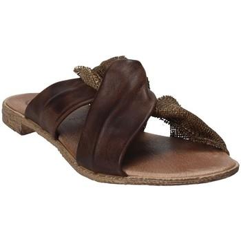 Cipők Női Papucsok 18+ 6113 Barna